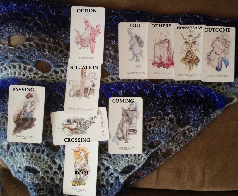 LINESTRIDER'S TAROT  Celtic Cross layout  | Ask my Cards